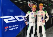 Craft-Bamboo Racing drivers Alex Tagliani and Greg Taylor finished third on Saturday for their first podium of the season in Round 7 of the FRD LMP3 Series held at Zhuhai International Circuit in China.