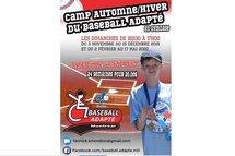 Premier Camp d'automne/hiver du baseball adapté à Montréal