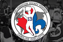 Célébration Caroline Ouellette du Hockey Féminin