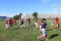 La tournée du baseball féminin était sur la route pour une dernière fois cet été!