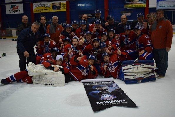 Bantam AAA Relève : Le National de Montréal grand gagnant de la Coupe Dodge 2017