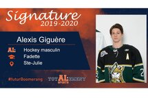 Alexis Giguère-Crédit Photo-Facebook: Gaulois de Saint-Hyacinthe - Midget AAA