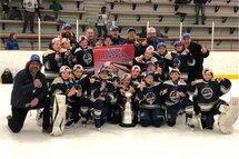 Les Chevaliers Atome BB, Champions de la Coupe Montréal !!