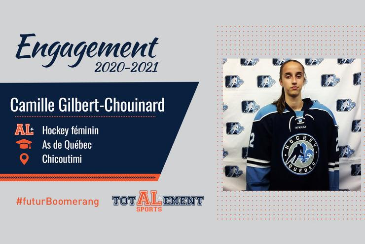 Camille Gilbert-Chouinard : une joueuse d'équipe