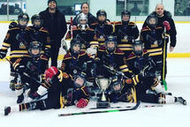 AT C Hawks - Champions of the Russell Minor Hocke Association Winter Freeze Tournament