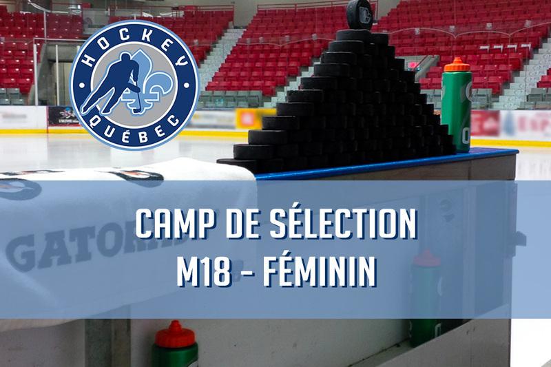 26 joueuses invitées au camp de sélection final d'Équipe Québec féminin M18