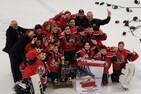 Les Montagnards Bantam BB champions du 41e Tournoi National de Hockey Bantam de Québec