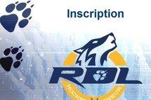 Inscription saison 2019-20