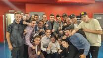 Champions des interrégionnaux 2016 -2017 junior B