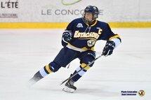 Tristan Luneau est le joueur U16 Tecnic du mois d'octobre (Crédit photo Jean Levasseur – Les Estacades de Trois-Rivières).