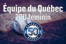 La formation de l'équipe du Québec 20U féminin est complétée