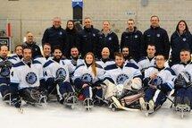 Équipe Québec à la conquête du championnat canadien de parahockey