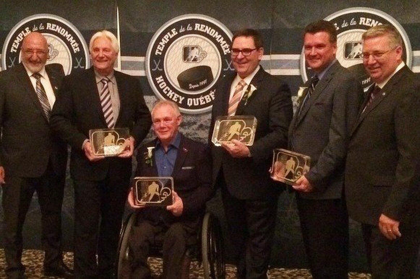 Le temple de la renommée du hockey québécois accueille quatre nouveaux intronisés en 2016