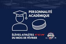 La Ligue midget AAA honore les 15 élèves-athlètes CCM du mois de février