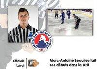Beaulieu avec les grands dans la AHL