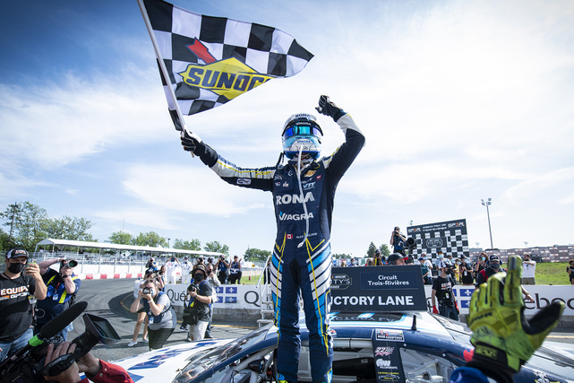 A Great Win for Alex Tagliani in the NASCAR Pinty's Race at the Grand Prix of Trois-Rivières
