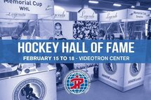 HOCKEY HALL OF FAME STOPS AT THE PEE-WEE TOURNAMENT!