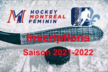 Inscriptions - Saison 2021-2022