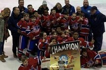 Atome AA Royal Est - Champions à Montreal-Nord!!