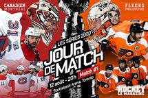 Jour de match | Le Canadien et les Flyers amorcent leur série quart de finale de l'Association Est