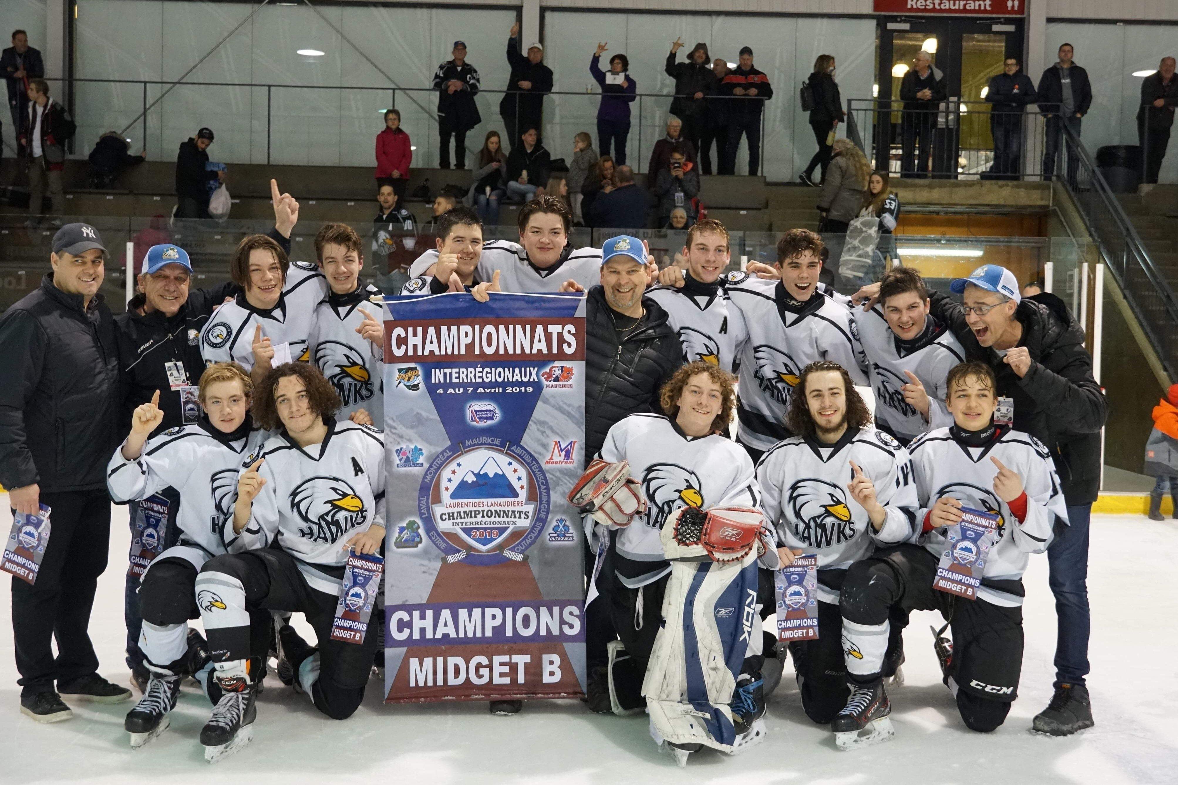 Hawks Midget B2 Champions Interrégionnaux