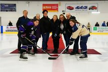 Match d'ouverture de la 23e édition du Tournoi provincial Hockey féminin Laval
