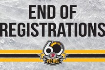 END OF THE REGISTRATIONS