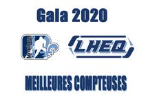 Les meilleures compteuses du volet féminin, Gala LHEQ 2020