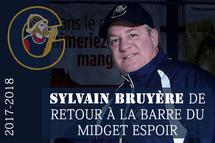 SYLVAIN BRUYÈRE RECONFIRMÉ DANS SES FONCTIONS.