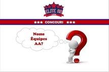 Concours :  À la recherche de noms pour les équipes AA de Laval!