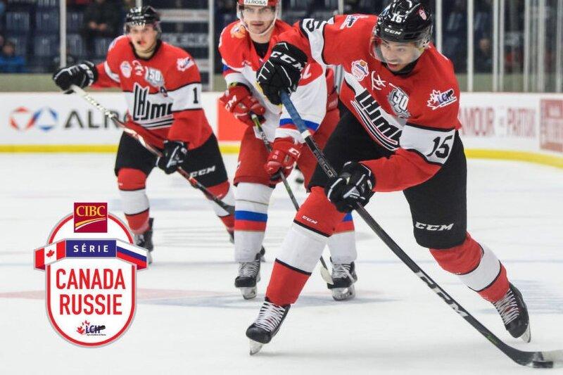 Victoire de 5-1 à Sherbrooke ; les Russes ont le meilleur sur la LHJMQ