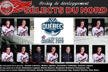 Sélects du Nord sélectionnés Jeux du Québec
