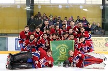 PeeWee AA Royal Ouest - Champions à St-Albans au Vermont!!