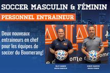 Nouveaux entraineurs de soccer - Crédit photo - Claude Morin, AL Sports