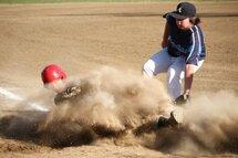 Le baseball en action