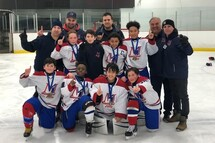 Royal Ouest - Champions! Tournoi 3 vs 3 Atome AA - Structure Rousseau Royal Laval-Montreal