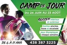 Camp de jour d'été 2019 au District 5