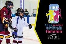 Inscrivez votre événement à la Fin de semaine mondiale du hockey féminin