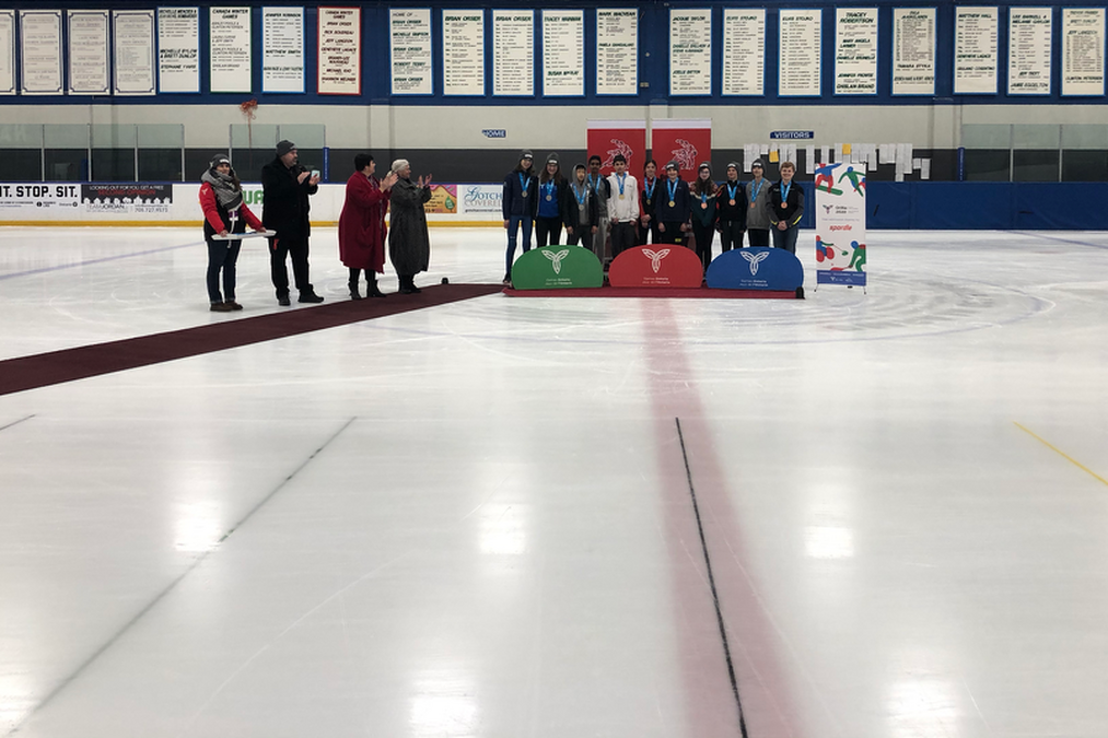 Spordle teams up with the Speed Skating competitions at the Orillia 2020 Ontario Winter Games