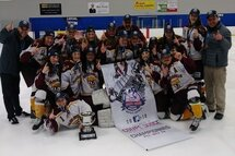 COUPE DODGE PEE-WEE AA FÉMININ:  BALAYAGE DES HARFANGS DU TRIOLET