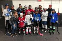 Première Pratique Hockey Adapté