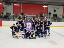 Championnes Rafales Pee Wee A