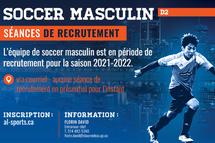Soccer masculin - Crédit photo - James Hajjar et Tabasko Impression+Design
