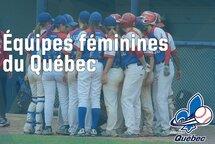 Les équipes provinciales féminines sont maintenant formées!
