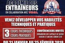 Académie des entraineurs 2018