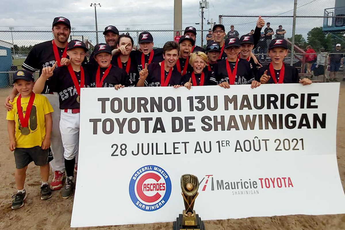 Franc succès pour la 1re édition du Tournoi 13U Mauricie Toyota de Shawinigan