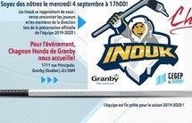 Invitation des Inouk et de Chagnon Honda