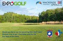 Mackenzie Investments Open partners with the EXPOGOLF shows
