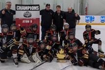 Atome B Prédateurs - Champions du Tournoi d'Ottawa de la Coupe Cougar