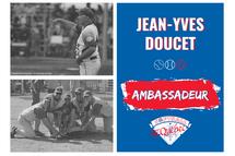 Jean-Yves Doucet, ambassadeur de Softball Québec